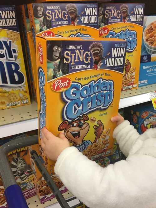 Buy Golden Crisp and enter the Sing Sweepstakes!