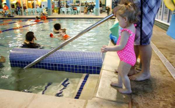 Swim lessons at Goldfish Swim School