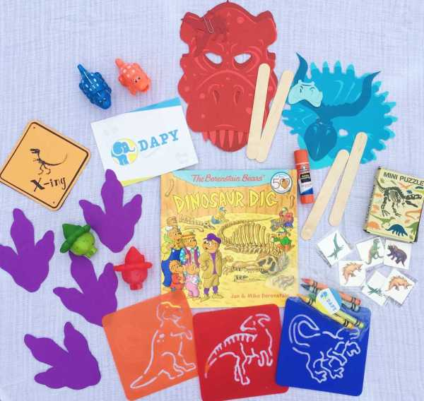 DAPY Subscription Box: Developmentally Appropriate Play! Easy fun activities for kids birth-5 years sent right to your door.