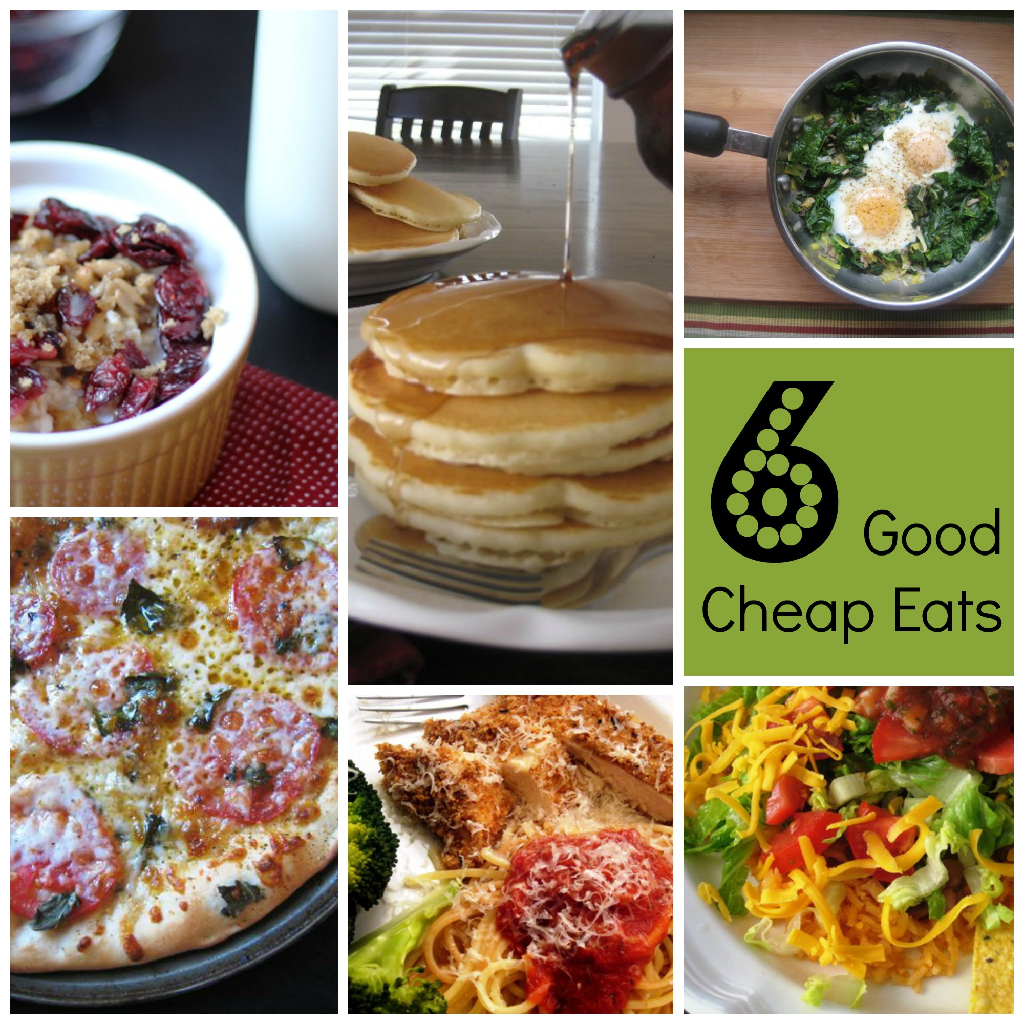 Good Cheap Quick Meals