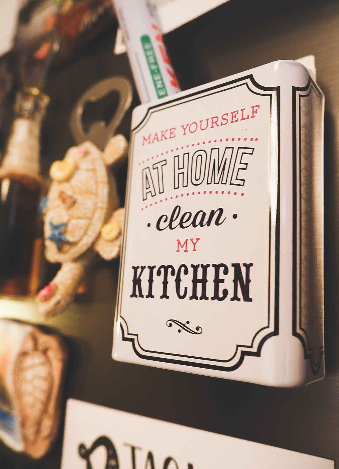 Kitchen – Love for food and magnets