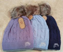 layer bobble hat