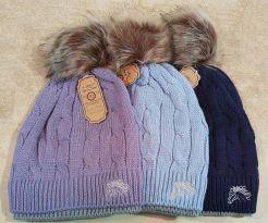 layer bobble hat