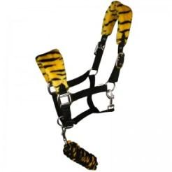 Tiger Fleece Headcollar