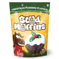 Stud Muffins Christmas Pudding Treats