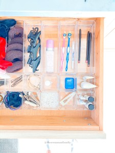 drawer organizer set for bathroom