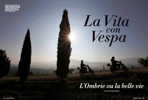 Castello di Montegiove, La Vita Con Vespa 1