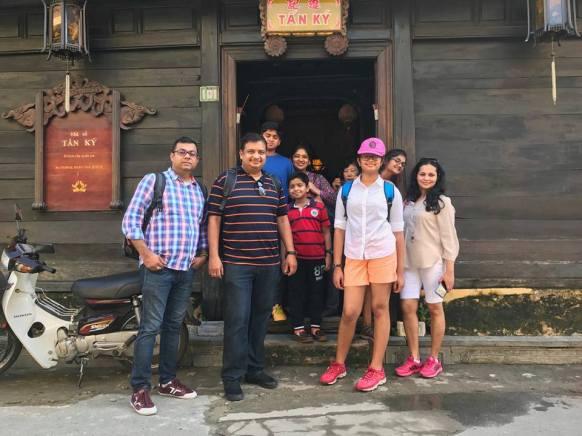 Outside Tan Kyi House
