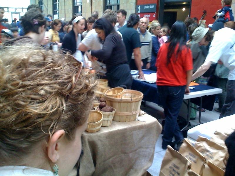 Cari explores Green Barn Market
