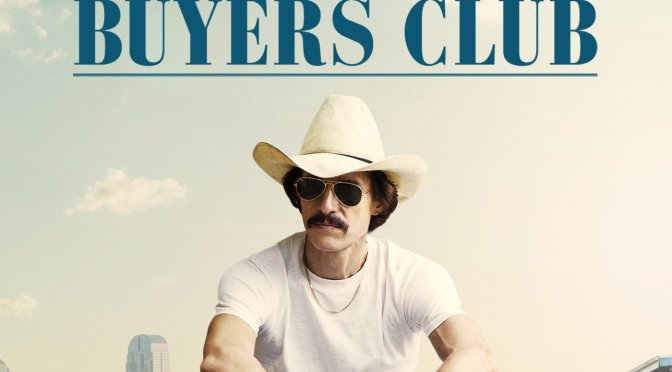"Poster for the movie ""Dallas Buyers Club"""