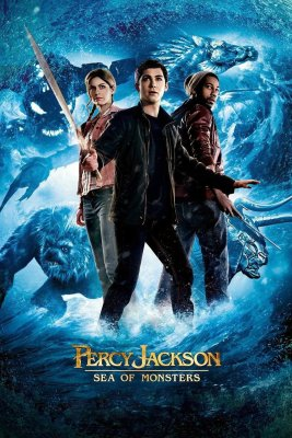 """Poster for the movie """"Percy Jackson: Sea of Monsters"""""""