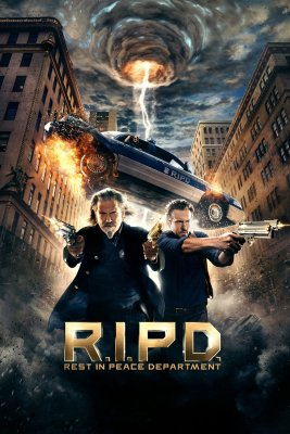 "Poster for the movie ""R.I.P.D."""