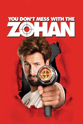 """Poster for the movie """"You Don't Mess With the Zohan"""""""