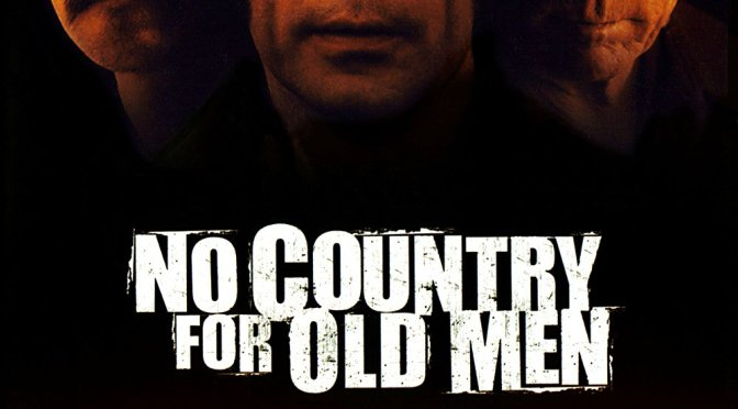 "Poster for the movie ""No Country for Old Men"""