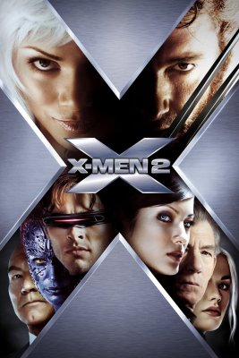 "Poster for the movie ""X2: X-Men United"""