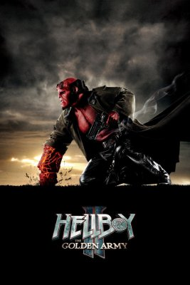 """Poster for the movie """"Hellboy II: The Golden Army"""""""