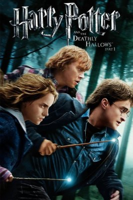 "Poster for the movie ""Harry Potter and the Deathly Hallows: Part 1"""