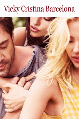 "Poster for the movie ""Vicky Cristina Barcelona"""