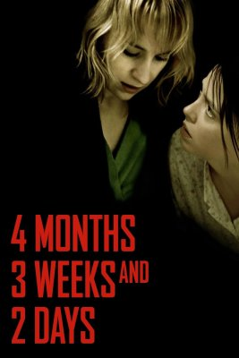 """Poster for the movie """"4 Months, 3 Weeks and 2 Days"""""""