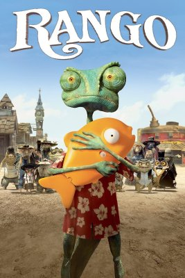 "Poster for the movie ""Rango"""