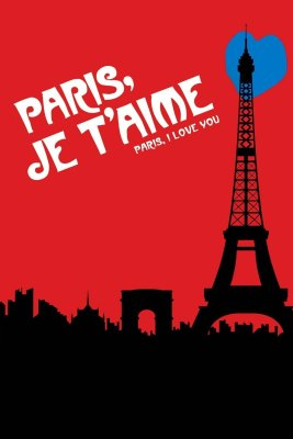"Poster for the movie ""Paris, je t'aime"""