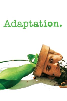 "Poster for the movie ""Adaptation."""
