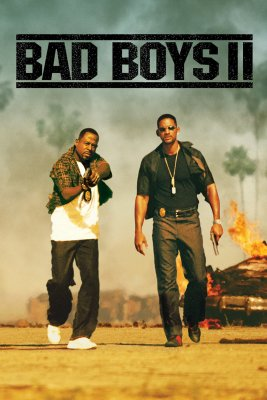 "Poster for the movie ""Bad Boys II"""