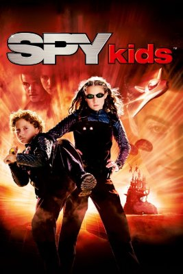 """Poster for the movie """"Spy Kids"""""""