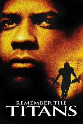 "Poster for the movie ""Remember the Titans"""