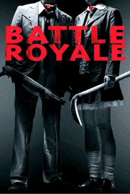 "Poster for the movie ""Battle Royale"""