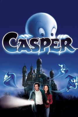 "Poster for the movie ""Casper"""