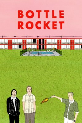 "Poster for the movie ""Bottle Rocket"""