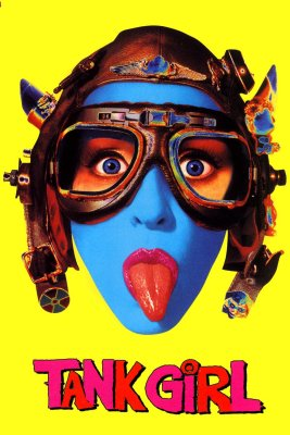 "Poster for the movie ""Tank Girl"""