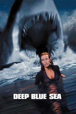 """Poster for the movie """"Deep Blue Sea"""""""