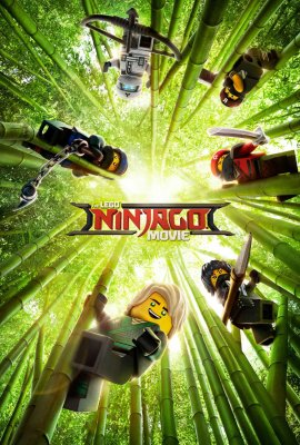 """Poster for the movie """"The LEGO Ninjago Movie"""""""