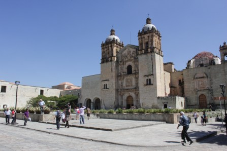Oaxaca church on the Andador