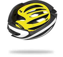 The MIPS liner in a Lazer brand bicycle helmet. Photo credit: Lazer Sport