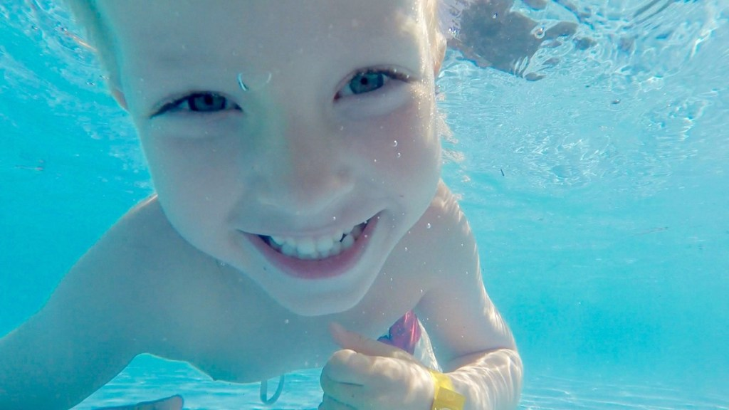 All young children should be receiving free swimming lessons