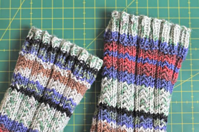 You're ready to make socks! Give the Simple SKYP Pattern a try...it's FREE and perfect for a new sock maker ~ Life Beyond the Kitchen