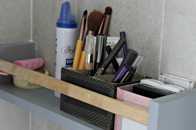 Washi Tape Boxes for Cosmetics Storage ~ Creative Craft Bloggers Challenge ~ Life Beyond the Kitchen