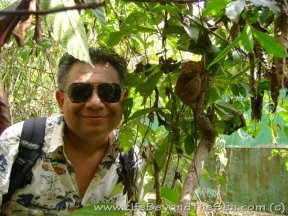 Me at a nearby Tarsier Reserve in Bohol