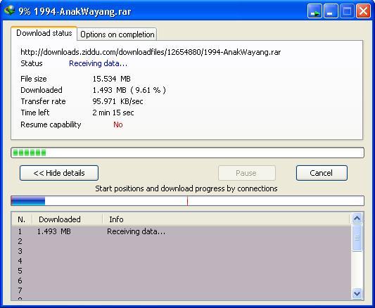 Cara Resume Download file yang Gagal di IDM