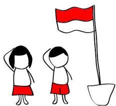 dp bbm - hormat kepada bendera merah putih`