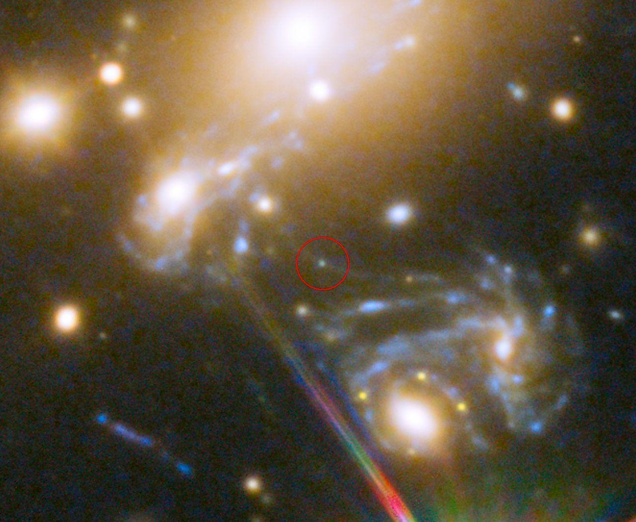 Lensed Star In The Cluster Macs J 5 223