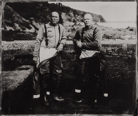 Rnli Coxswains And Helms The Lifeboat Station Project