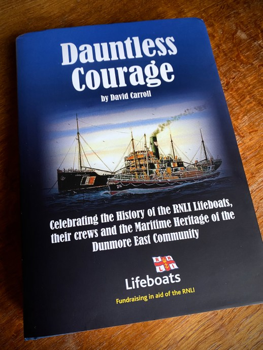 The Lifeboat Station Project in Dauntless Courage by David Carroll (cover)