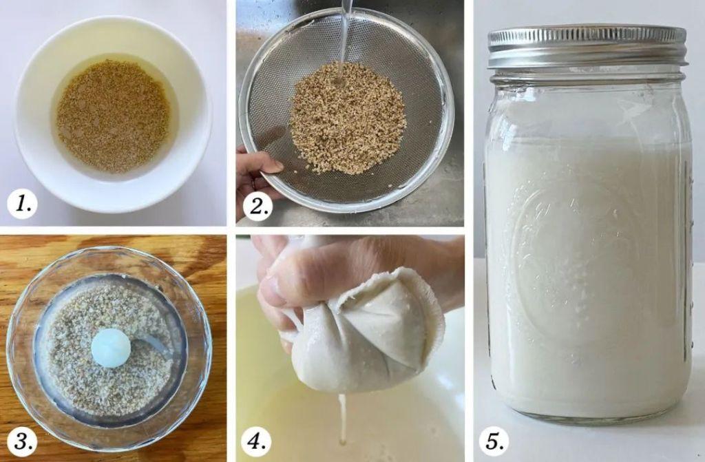 燕麥奶的製作步驟