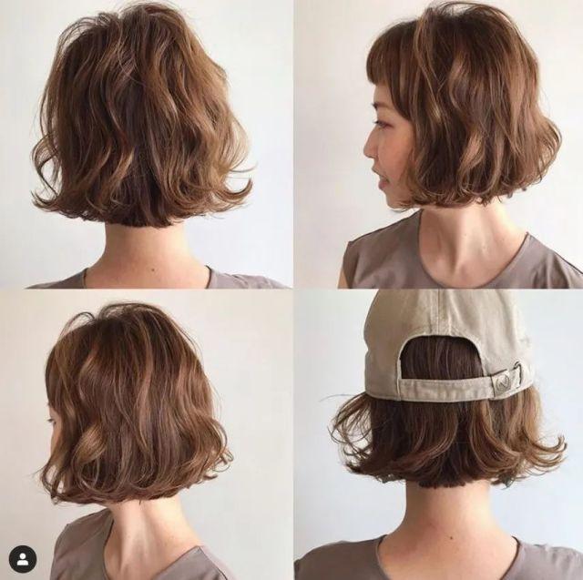 短髮造型|18款日系清爽減齡短髮