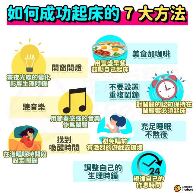 如何成功起床的7大起床方法