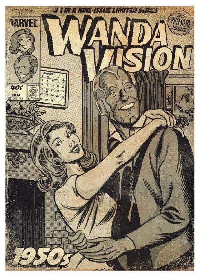 wandavision-畫成漫畫